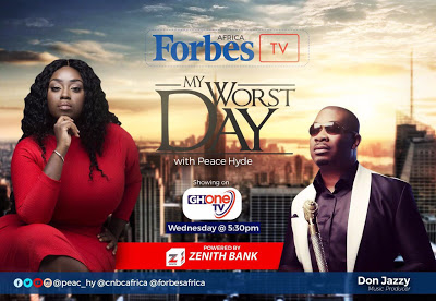 """""""God Is Not Done With Me Yet!"""" Music Mogul Don Jazzy On Forbes Africa TV - """"My Worst Day With Peace Hyde"""""""