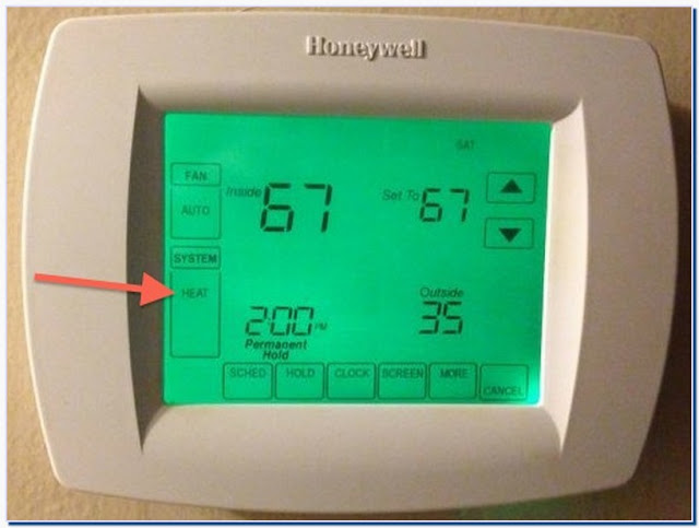 What is emergency heat on a honeywell thermostat