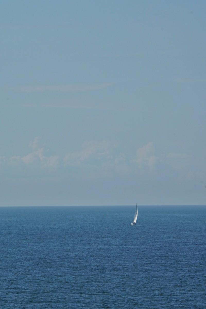 Itämeri, purjevene, merellä