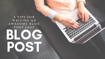 tips for writing blog post