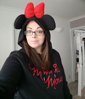 Minnie Mouse Hoodie Primark