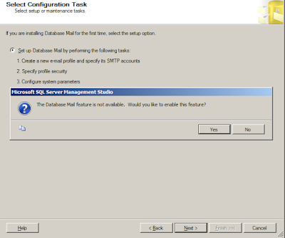 Step by Step setting up Database Mail and Creating alerts in SQL Server 2008 R2