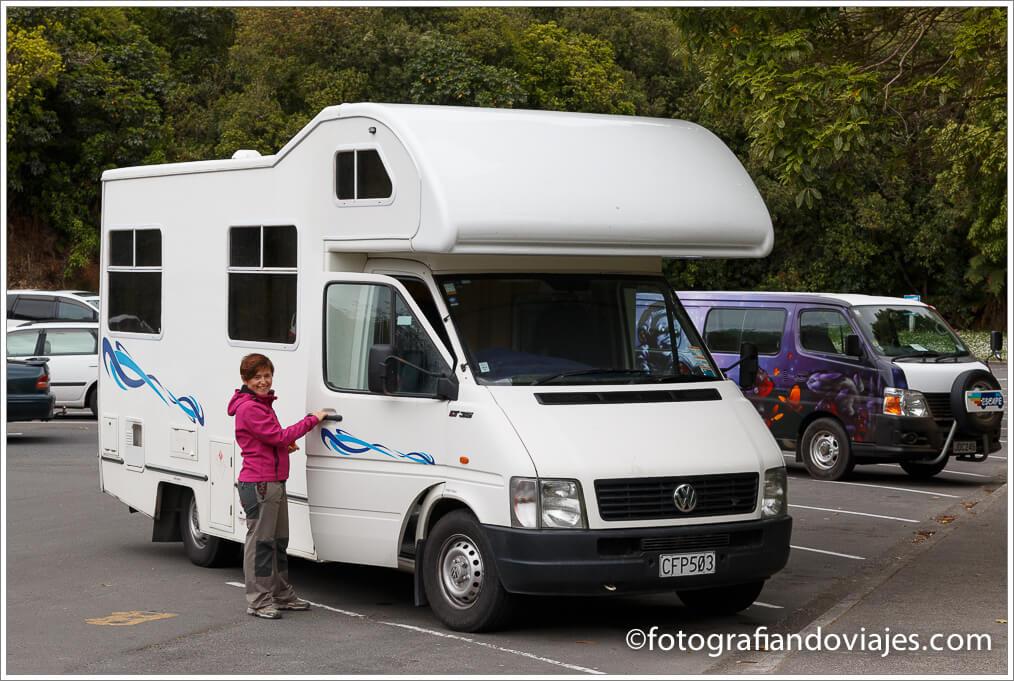 tipos de caravana en Nueva Zelanda