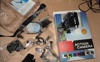 مراجعة اكشن كاميرا ويفي مقاومة للماء Action Camera wifi Full HD Waterproof