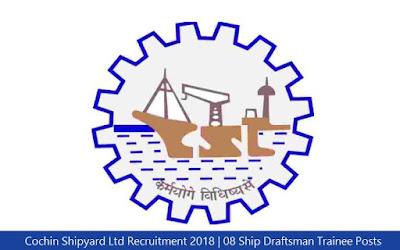 Cochin Shipyard Ltd Recruitment 2018