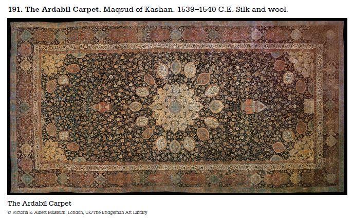 Gibby's AP Art History: 191. The Ardabil Carpet - Islamic ...