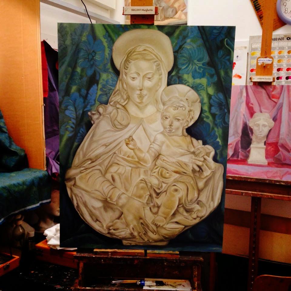 Come Dipingere Vecchie Tegole arte sacra