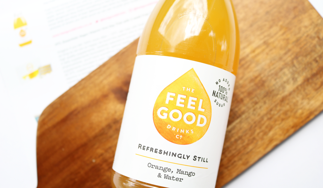 The Feel Goods Drinks Co Refreshingly Still Orange, Mango and Water Drink