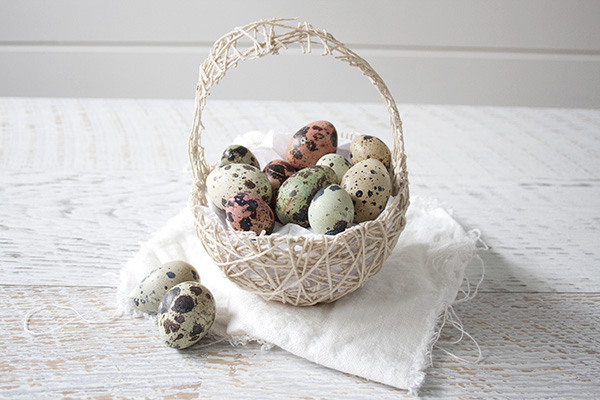 Fawn Over Baby DIY String Easter Basket