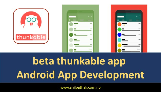 beta thunkable app, develop application without coding