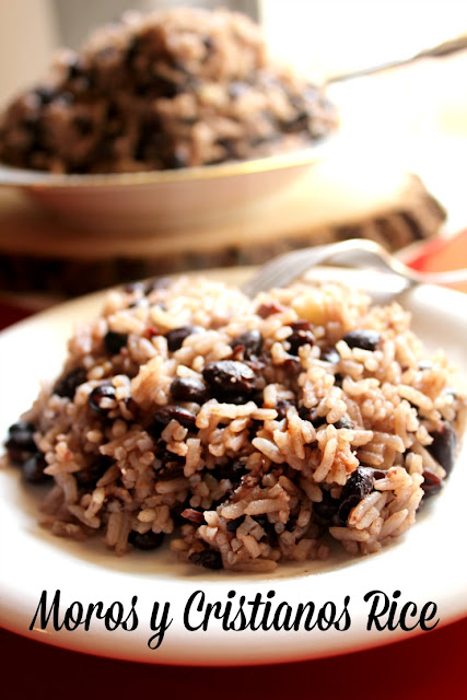 Moros y cristianos rice is perfect for the holidays! #KnorrSabor #LiveforFlavor #AddFlavor #ad