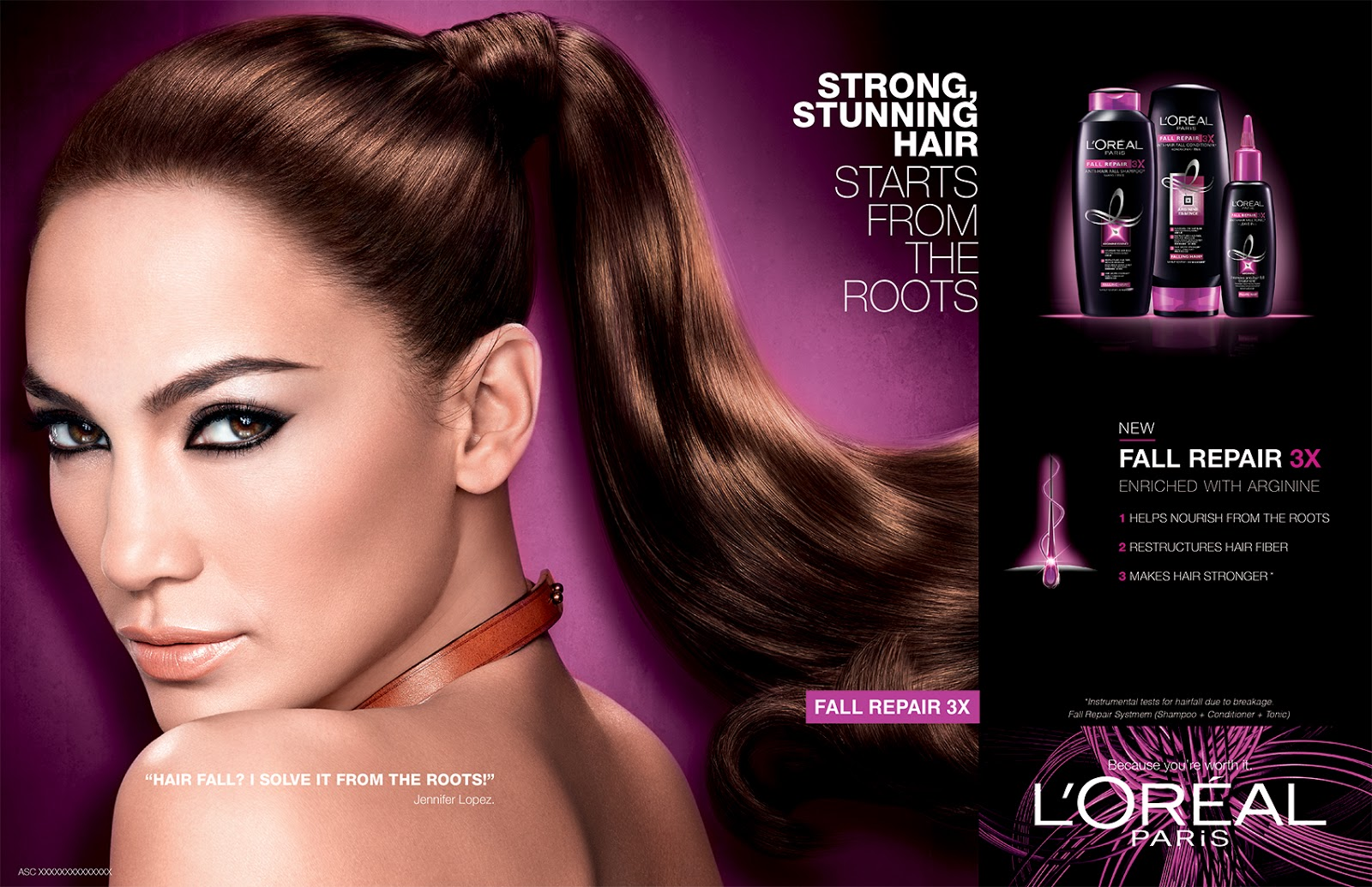 New Loreal Fall Repair 3x Anti Hair Line The Beauty Junkee Shampoo A Product Deserves Ambassador Loreals Newest Jennifer Lopez Poses For This Care Have You Seen Her Hotter Than