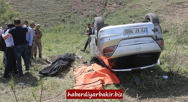 Li Diyarbekirê qeza trafîkê: 2 mirî
