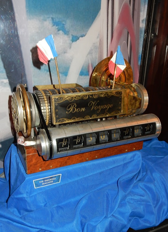Bon Voyage Thinking Machine Tomorrowland prop