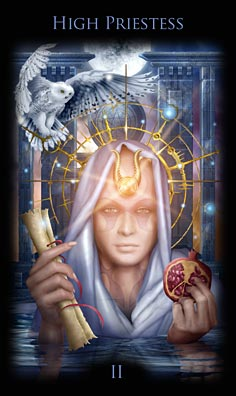 high priestess, tarot, occult, esoteric, rohit anand, divyatattva, tarto cards, mystic