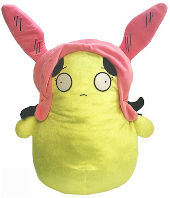 "San Diego Comic-Con 2018 Exclusive Bob's Burgers Kuchi Kopi Cosplaying as Louise 20"" Plush by UCC Distributing"