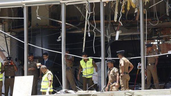 Asciende a 207 la cifra de muertos y 450 heridos por explosiones en Sri Lanka