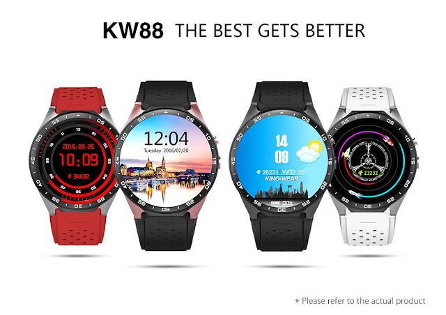Coupon KingWear KW88 Smartwatch Phone