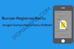 Cara Termudah Registrasi Kartu Prabayar Telkomsel, TRI, Indosat, XL, dan Smartfren