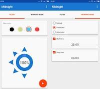 Modalità notte automatica su Android