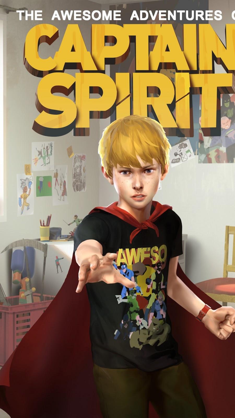 Papel de parede grátis jogo The Awesome Adventures of Captain Spirit para PC, Notebook, iPhone, Android e Tablet.