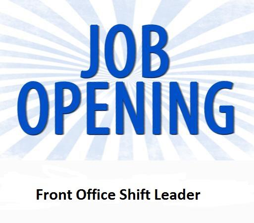 Hiring front office shift leader -Al Khaleej Time Jobs