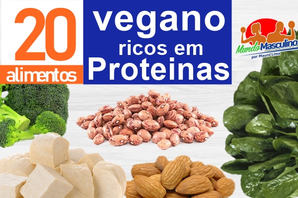 Alimentos Veganos Ricos em Proteinas