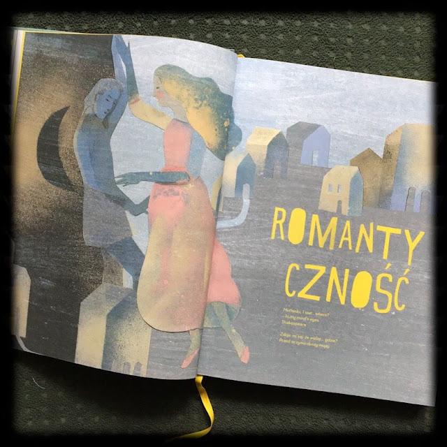 """""""Ballady i romanse"""" Adama Mickiewicza z komentarzem Emilii Kiereś, ilustracje Marianna Sztyma, Egmont Art"""