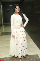 Megha Akash in beautiful White Anarkali Dress at Pre release function of Movie LIE ~ Celebrities Galleries 015.JPG
