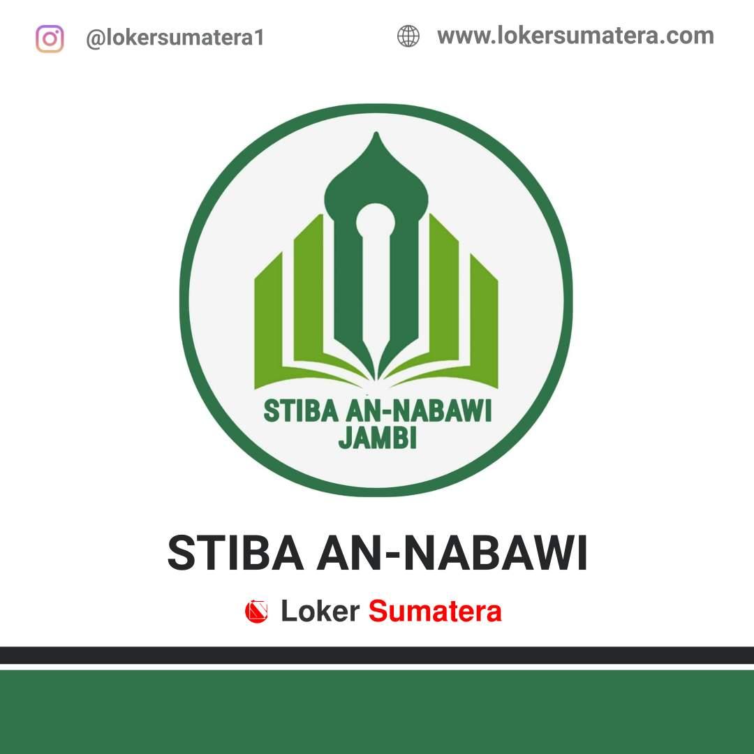 Lowongan Kerja Jambi: STIBA An-Nabawi Juni 2020