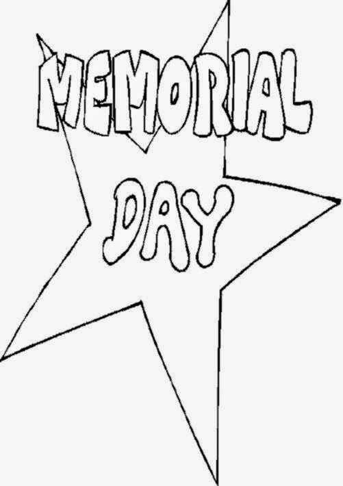 memorial day coloring pages color page