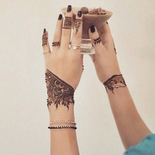 Latest Eid Mehndi Designs for Girls 2016-2017