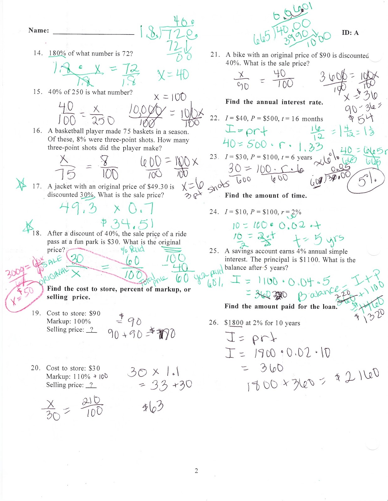 Ms Jean S Classroom Blog Math 7 Chapter 6 Practice Test