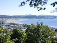 長谷寺からの海の景色