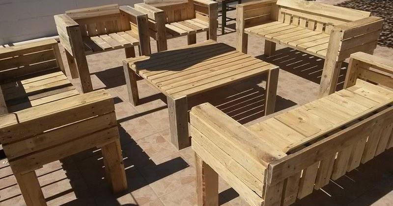 Muebles de exterior de palets - Muebles exterior palets ...