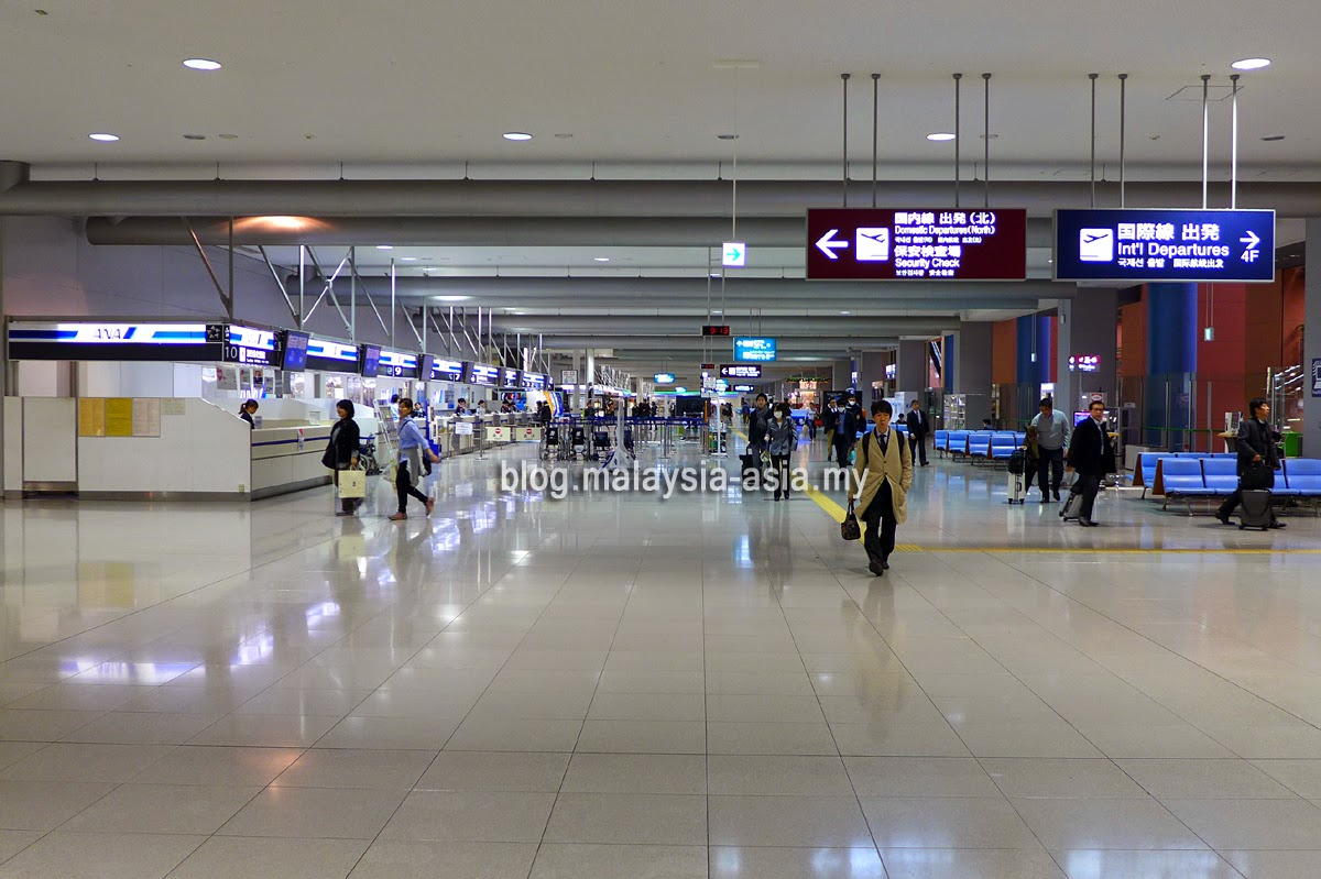 Kansai KIX domestic departure hall