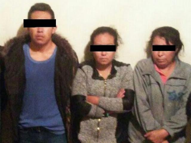 """Fotografía; Federales capturan a novia, suegra y cuñados de """"El Tequilero"""""""