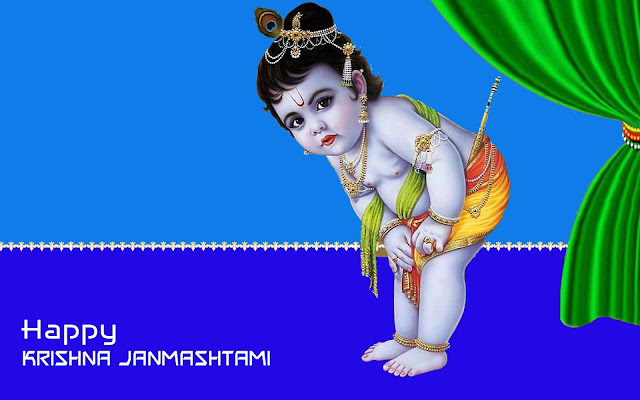 Best little Krishna janamshtami photos download