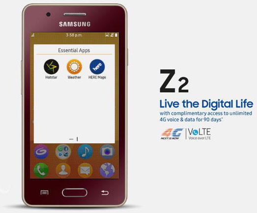 Samsung Z2 Jio,Samsung Z2 Jio Offers