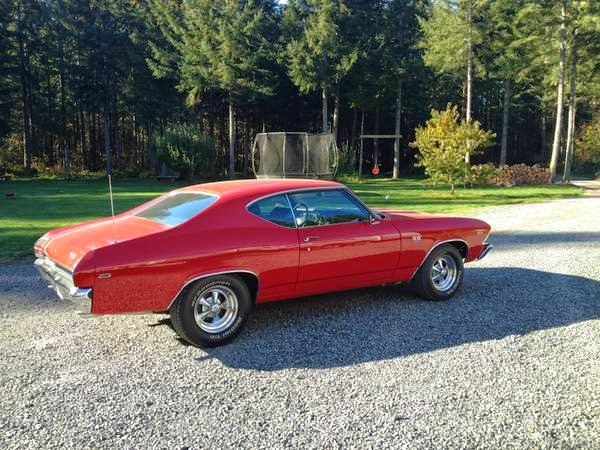For Sale 1969 Chevrolet Chevelle SS 396 - Buy American Muscle Car