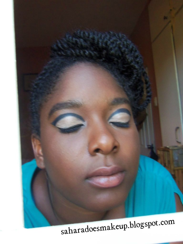 Sahara Does Makeup Janelle Monae Queen Inspired Makeup