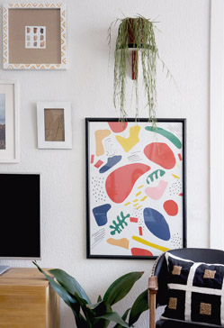 Diy collage Matisse