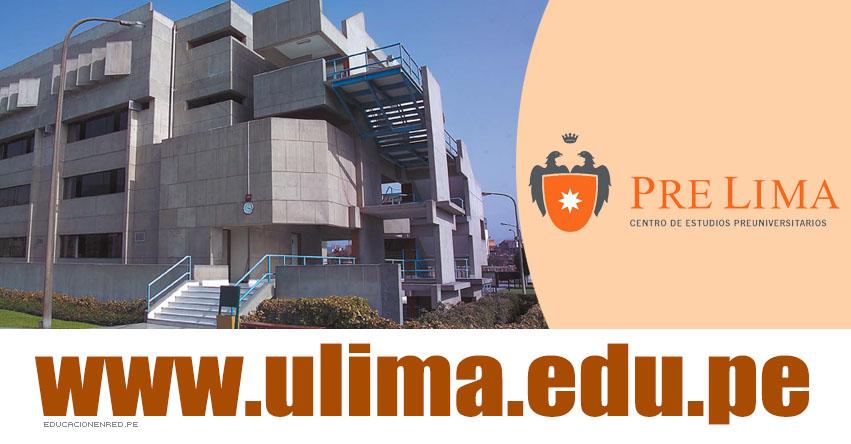 Resultados ULIMA PRE ADMISIÓN 2019 (Sábado 18 Mayo) Centro de Estudios Preuniversitarios de la Universidad de Lima - www.ulima.edu.pe