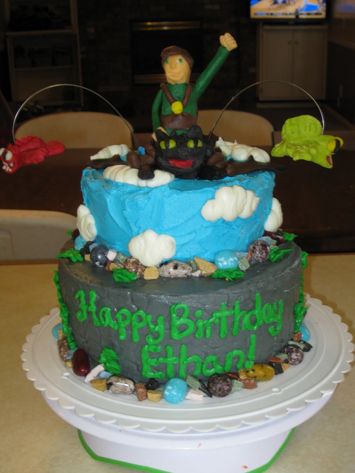 Rebecca S Sweet Escapes How To Train Your Dragon Cake