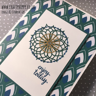 Click here to discover the opulent Eastern Palace Suite from Stampin' Up!