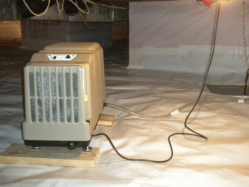 Santa Fe Advance Professional Crawlspace Dehumidifier - Basement Doctor