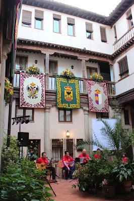 Actividades  culturales en las fiestas del Corpus por los patios de Toledo.Patios con mucha Historia. Los patios de Toledo abren al público por la festividad del Corpus