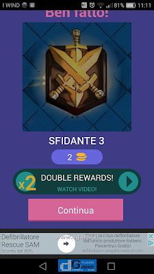 Indovina la carta Royale soluzione livello 54