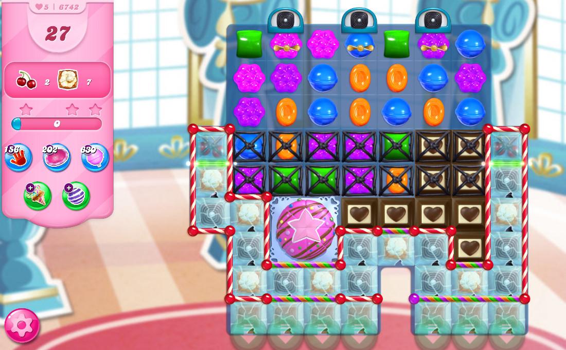 Candy Crush Saga level 6742