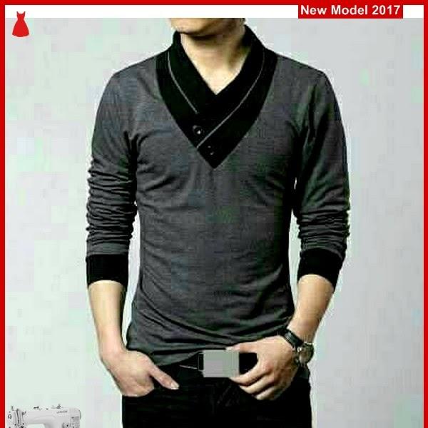 MSF0078 Model Tshirt Gray Murah Min Ho BMG